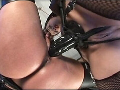 bimbo that wants to be in a group is fingered and penetrated