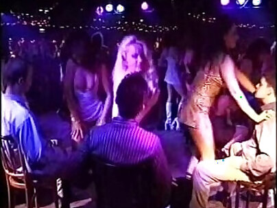 Hottest Blonde Stripper Giving After Party